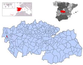 Resultado de imagen de Herreruela de Oropesa mapa