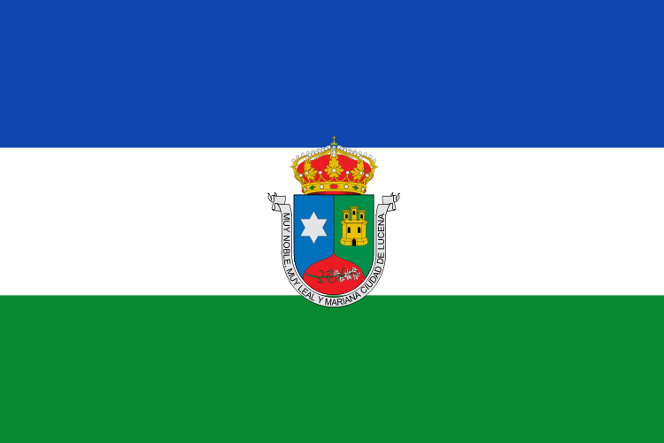 Bandera de Lucena