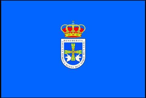 Bandera de Oviedo