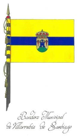 Bandera de Villarrubia de Santiago