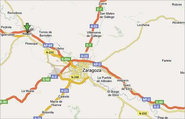 Imagen de Alagón mapa 50630 4