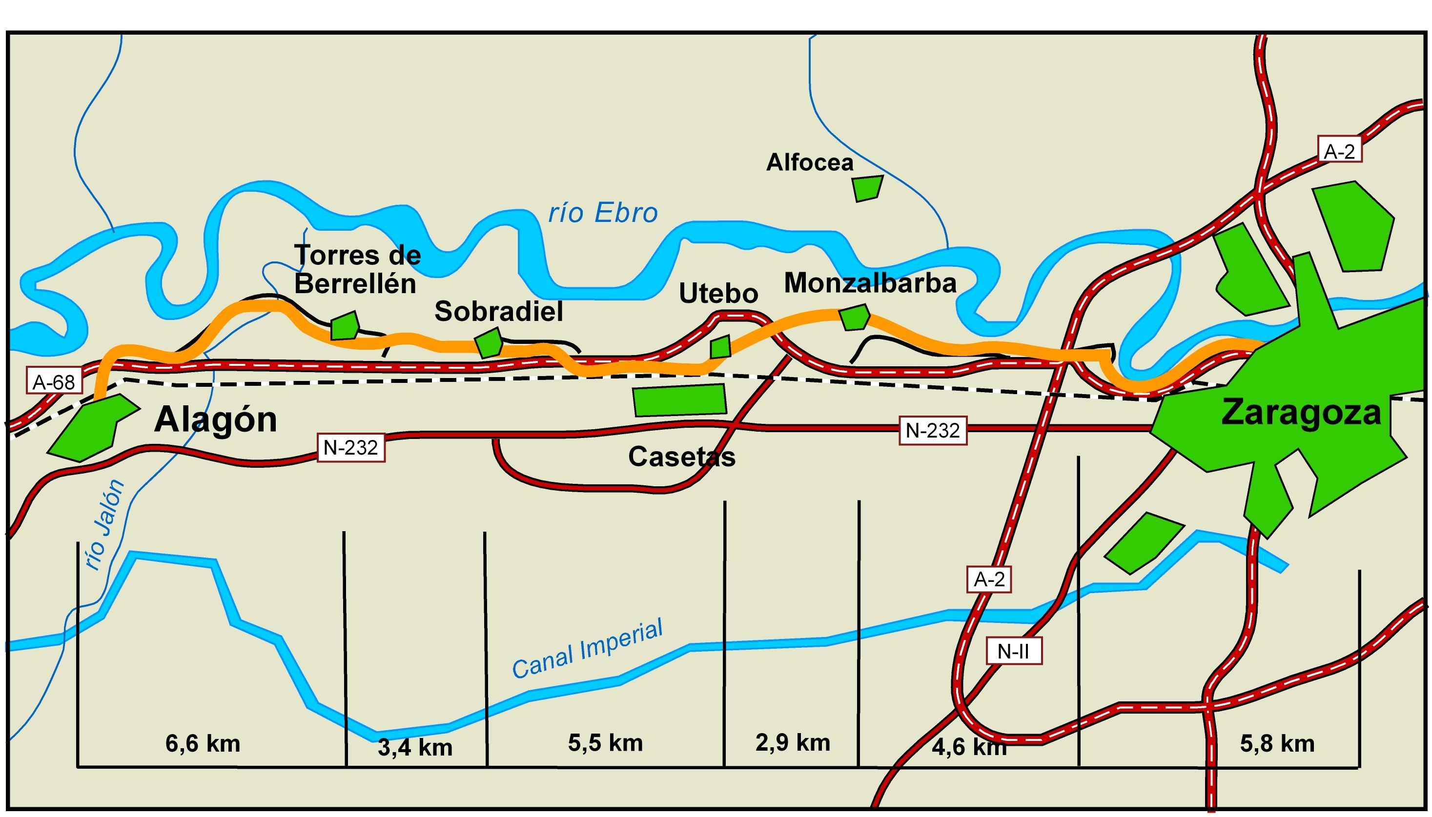 Imagen de Alagón mapa 50630 5