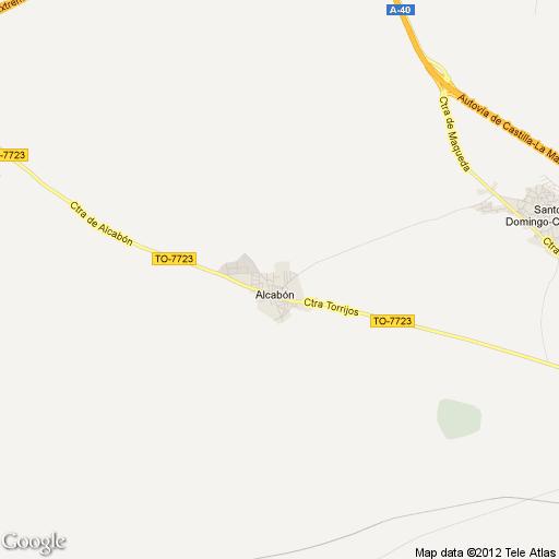 Imagen de Alcabón mapa 45523 1