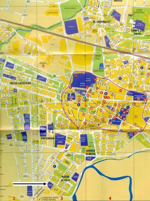 Barrio Venecia Alcala De Henares Mapa.28801 Codigo Postal De Alcala De Henares