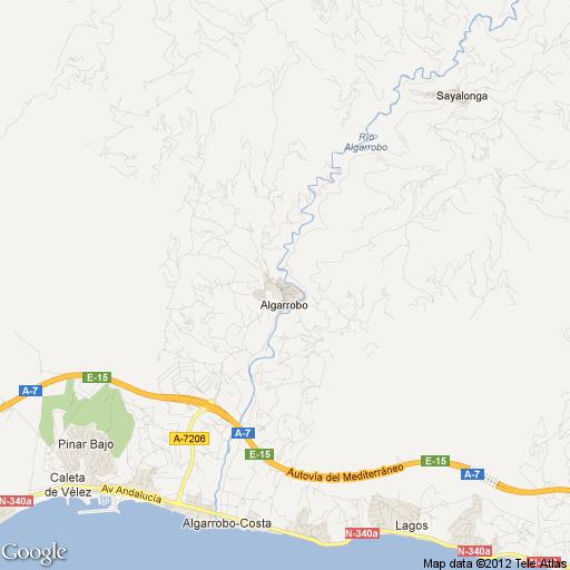 Imagen de Algarrobo mapa 29750 1