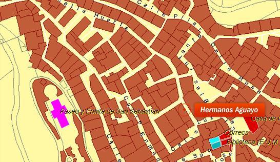 Imagen de Algarrobo mapa 29750 2