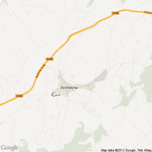 Imagen de Archidona mapa 29300 5
