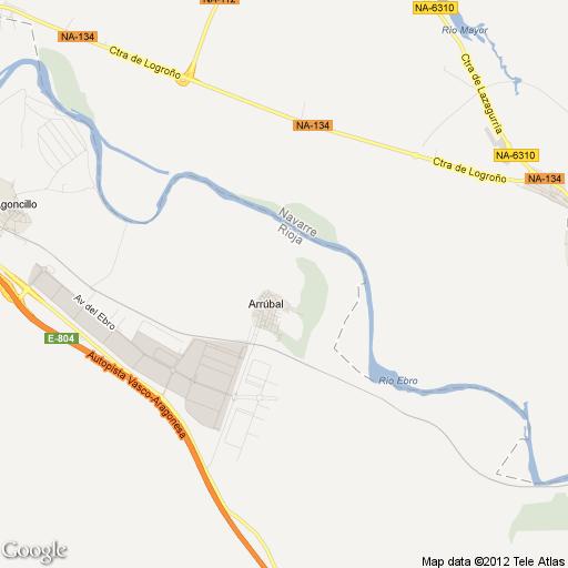 Imagen de Arrúbal mapa 26151 1