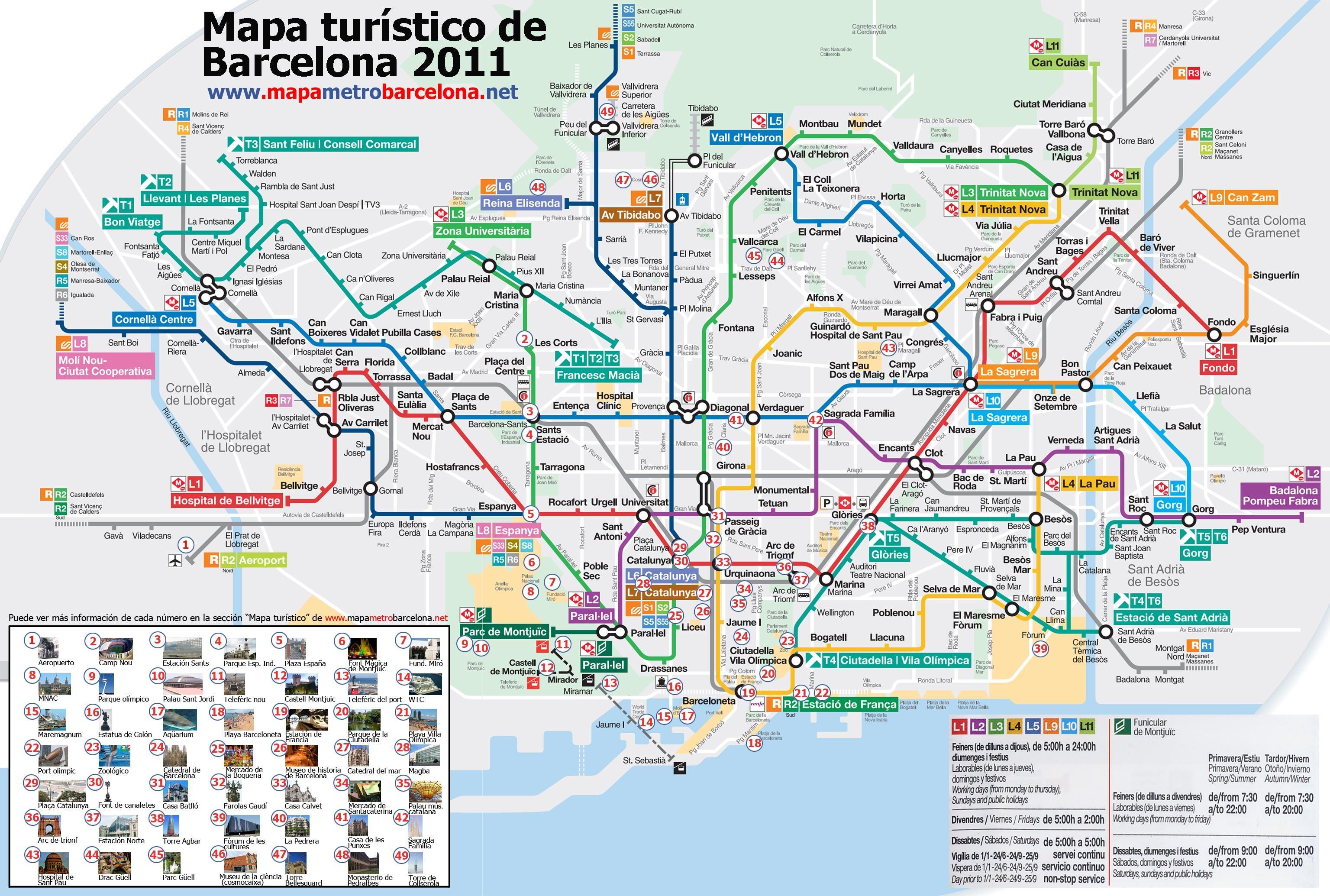 Mapa Codigos Postales Barcelona.08256 Codigo Postal
