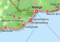 mapa de espanha benalmadena 29639 código postal de Benalmádena mapa de espanha benalmadena