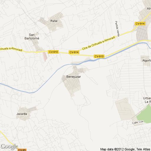 Imagen de Benejúzar mapa 03390 1