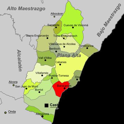 Imagen de Benicasim mapa 12560 2