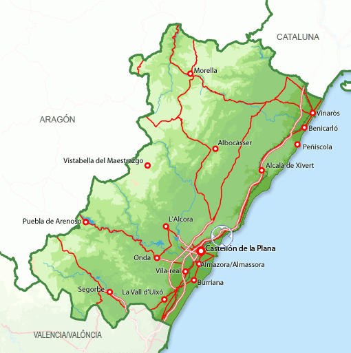 Imagen de Benicasim mapa 12560 6