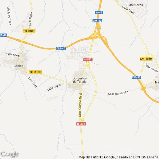 Imagen de Burguillos de Toledo mapa 45112 1