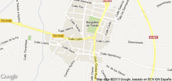 Imagen de Burguillos de Toledo mapa 45112 3