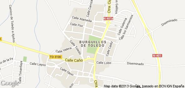 Imagen de Burguillos de Toledo mapa 45112 6