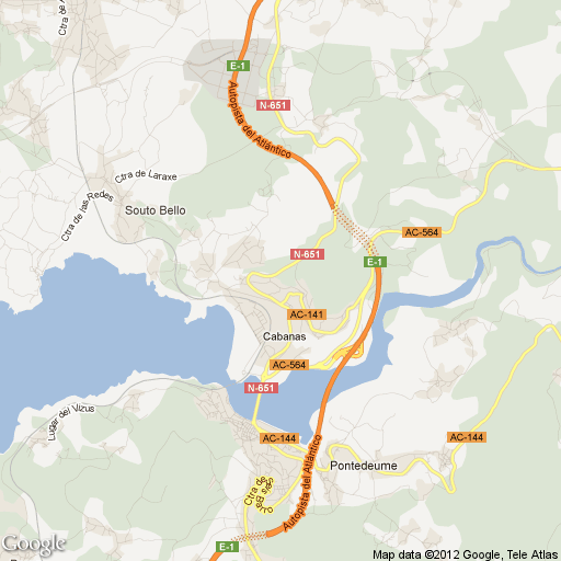 Imagen de Cabañas mapa 45592 1