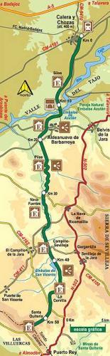 Imagen de Calera y Chozas mapa 45686 5