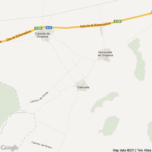 Imagen de Caleruela mapa 45589 2