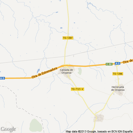 Imagen de Calzada de Oropesa mapa 45580 1