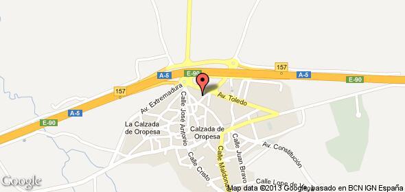 Imagen de Calzada de Oropesa mapa 45580 2