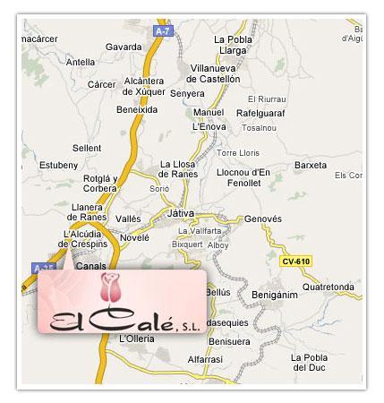 Imagen de Canals mapa 46650 2