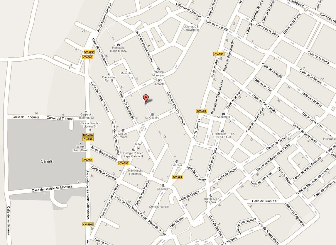 Imagen de Canals mapa 46650 3