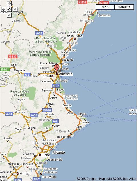 Imagen de Canals mapa 46650 4