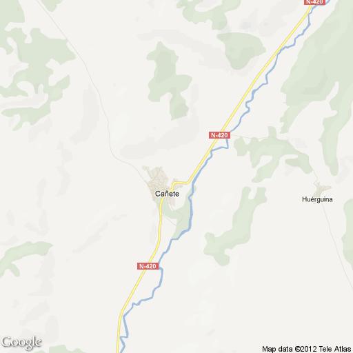 Imagen de Cañete mapa 16300 4