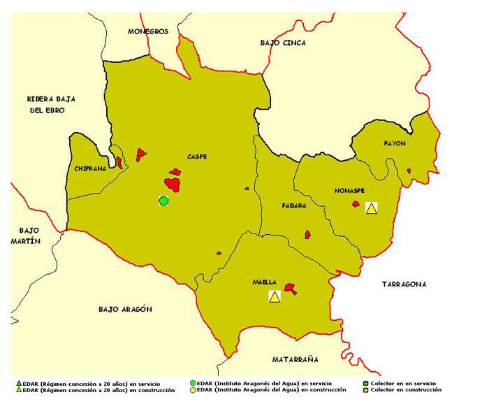 Imagen de Caspe mapa 50700 2