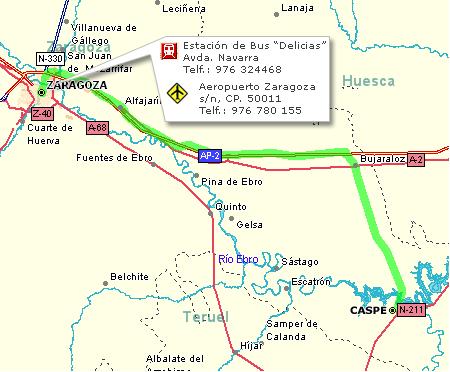 Imagen de Caspe mapa 50700 3