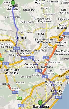 08211 c digo postal de castellar del vall s - Tiempo castellar del valles ...
