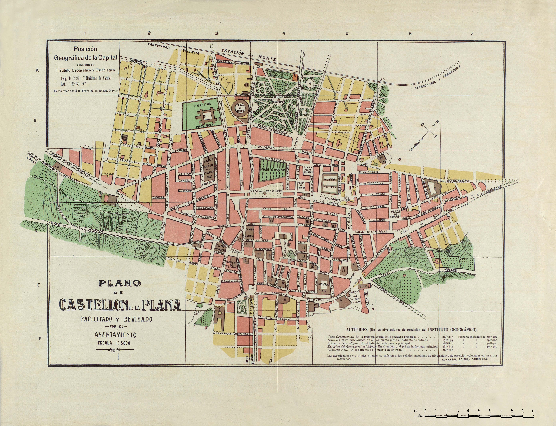 Imagen de Castellón de la Plana mapa 12001 3