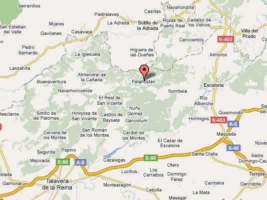 Imagen de Castillo de Bayuela mapa 45641 1