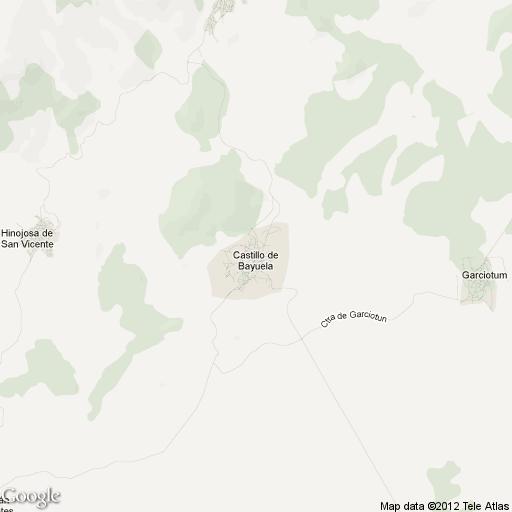 Imagen de Castillo de Bayuela mapa 45641 2