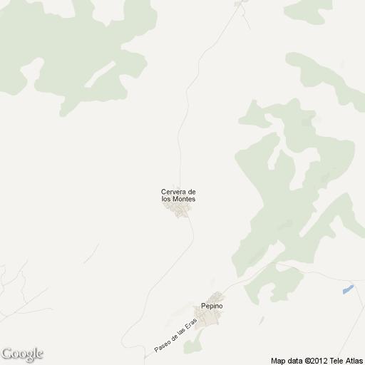Imagen de Cervera de los Montes mapa 45637 1