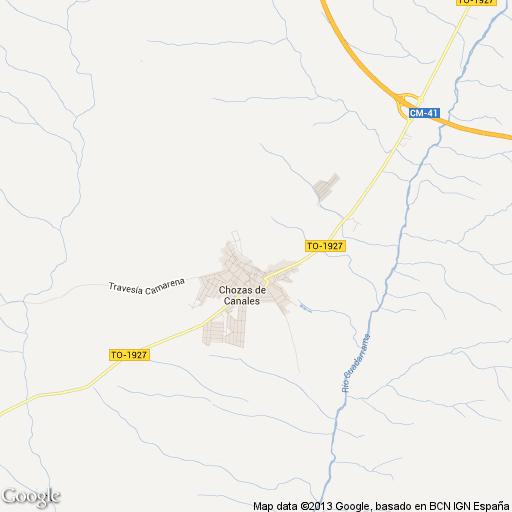 Imagen de Chozas de Canales mapa 45960 5