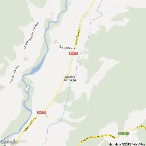Imagen de Cubillas de Rueda mapa 24940 1