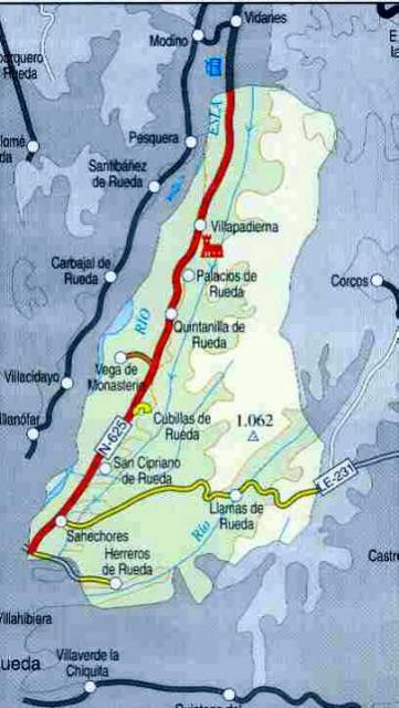 Imagen de Cubillas de Rueda mapa 24940 6