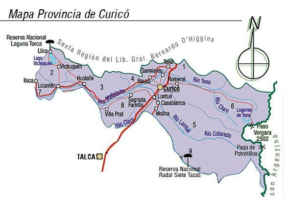 Imagen de Curicó mapa 37465 2