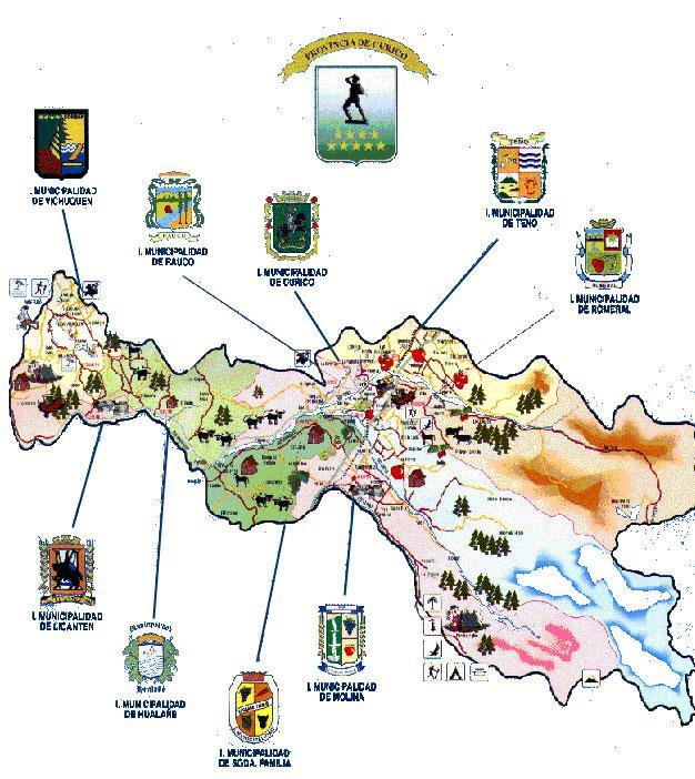 Imagen de Curicó mapa 37465 4
