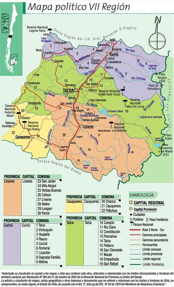 Imagen de Curicó mapa 37465 5