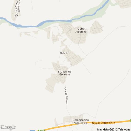 Imagen de El Casar de Escalona mapa 45542 1