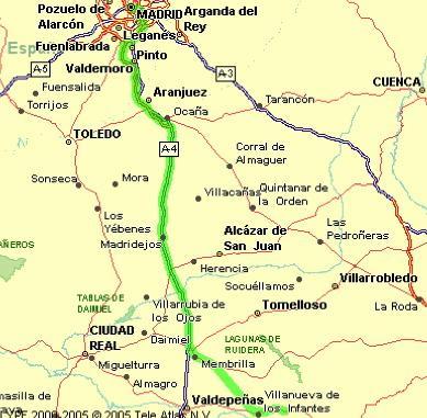 Imagen de El Romeral mapa 45770 2
