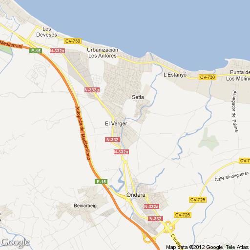 Imagen de El Verger mapa 03770 1