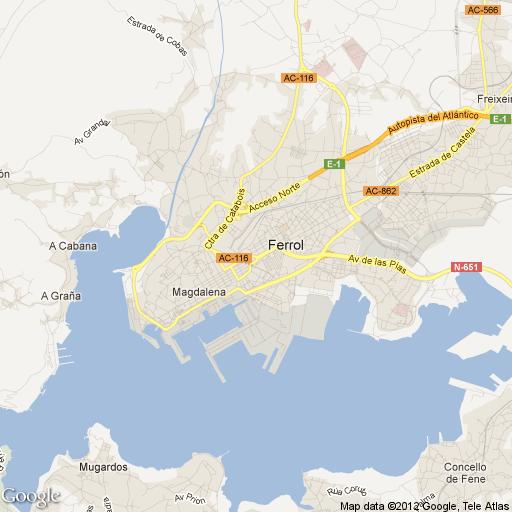 Imagen de Ferrol mapa 15401 1