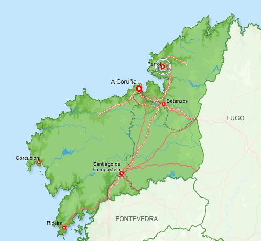 Imagen de Ferrol mapa 15401 6