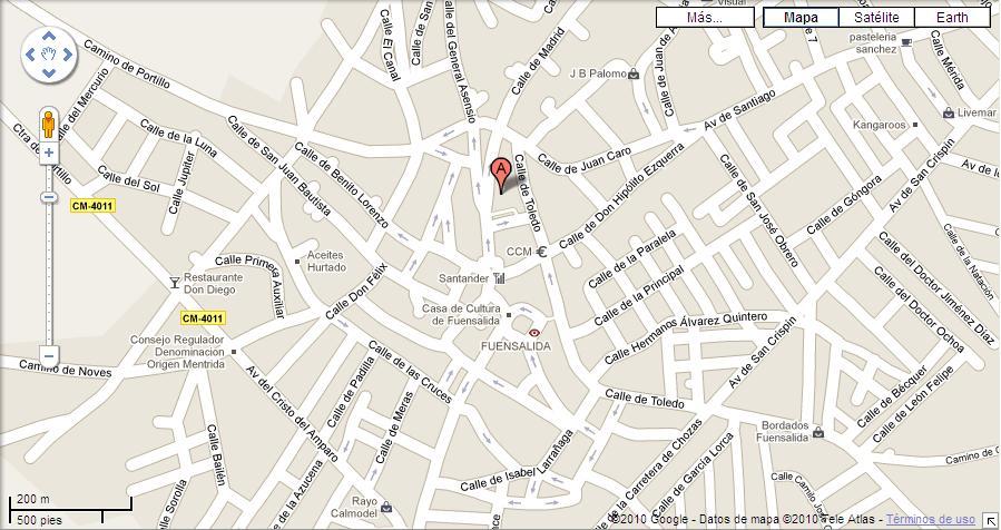 Imagen de Fuensalida mapa 45510 3