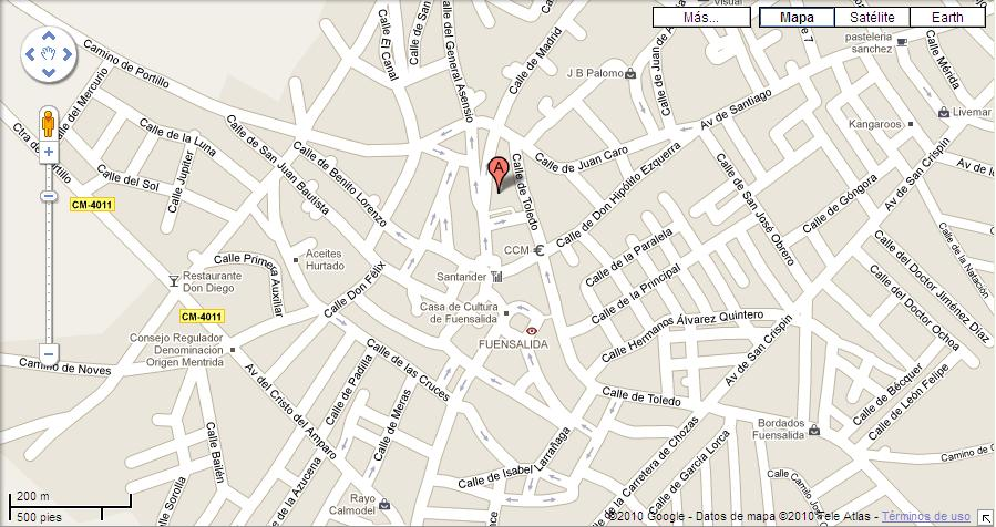 Imagen de Fuensalida mapa 45510 4