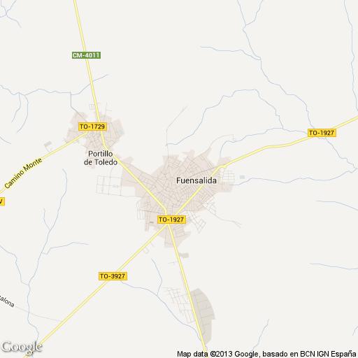 Imagen de Fuensalida mapa 45510 5